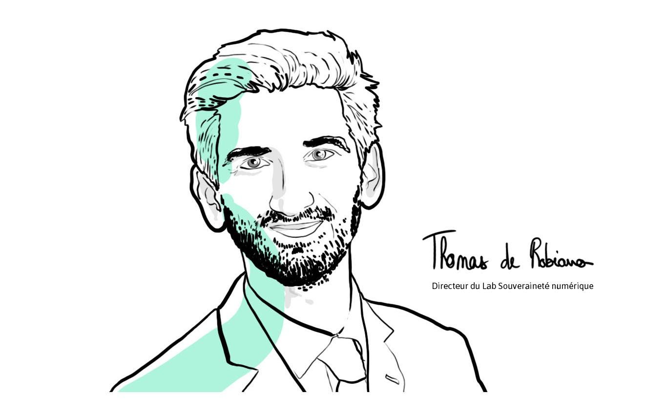 Thomas de Robiano Directeur du Lab Souveraineté numérique à Matrice