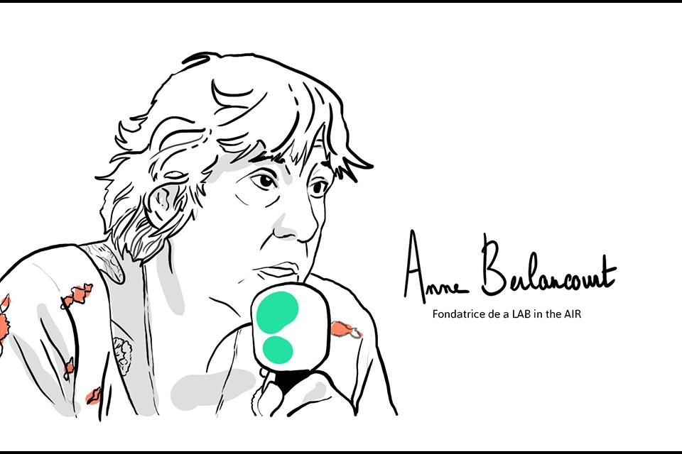 Anne Berlancourt de a LAB in the AIR Illustration Matrice