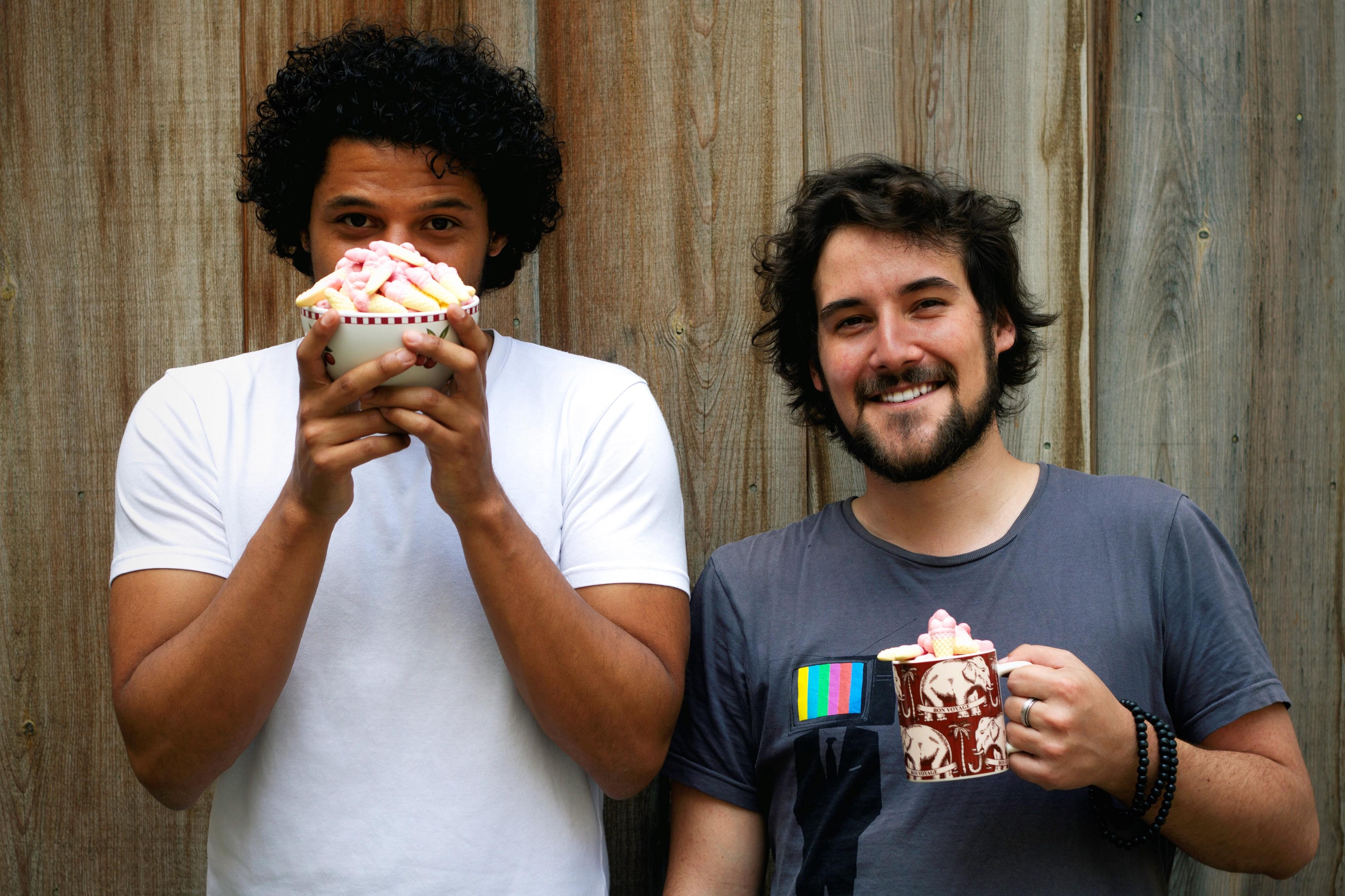Julien et Emeric cofondateurs de la startup Mixlab