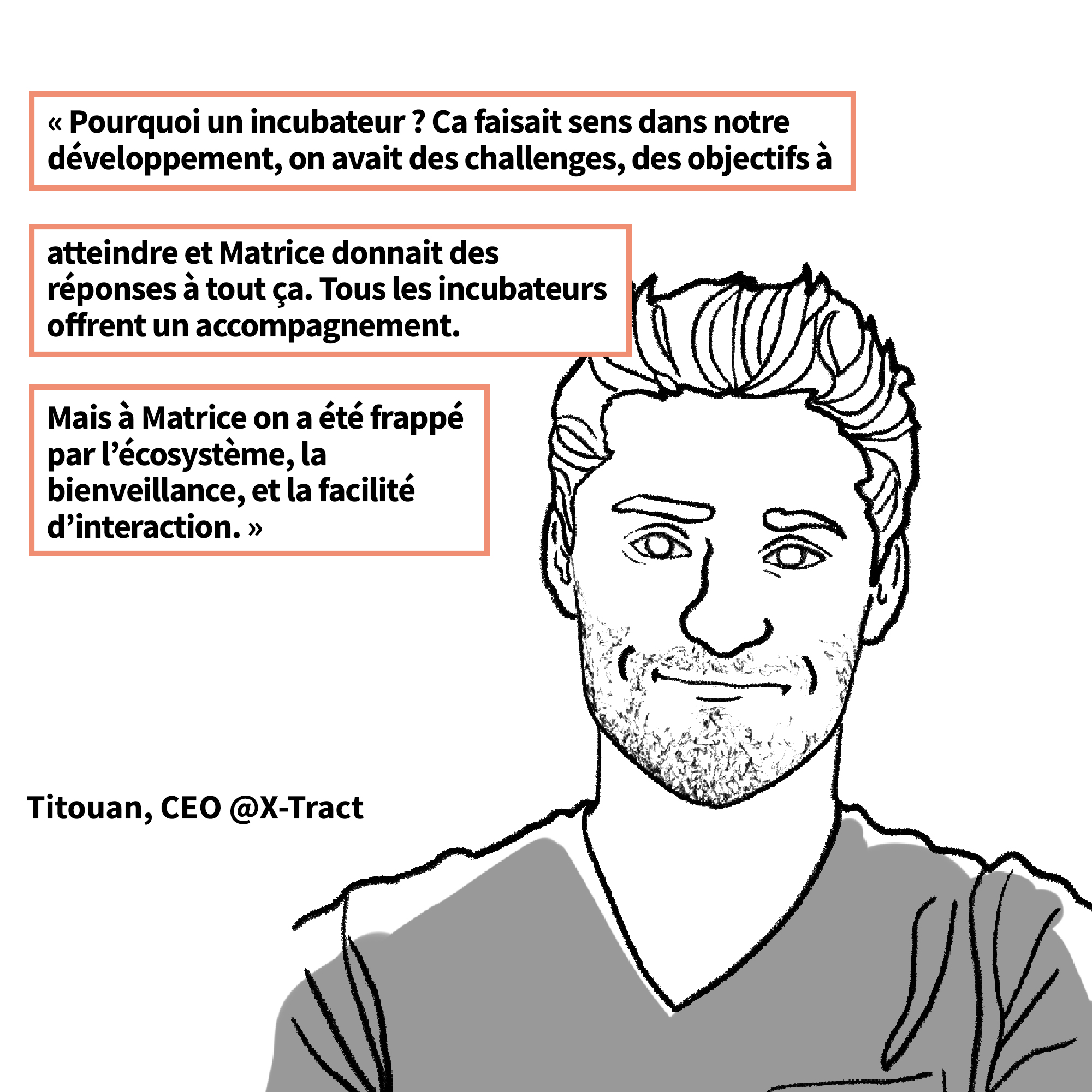 Titouan Parand de la startup X-Tract